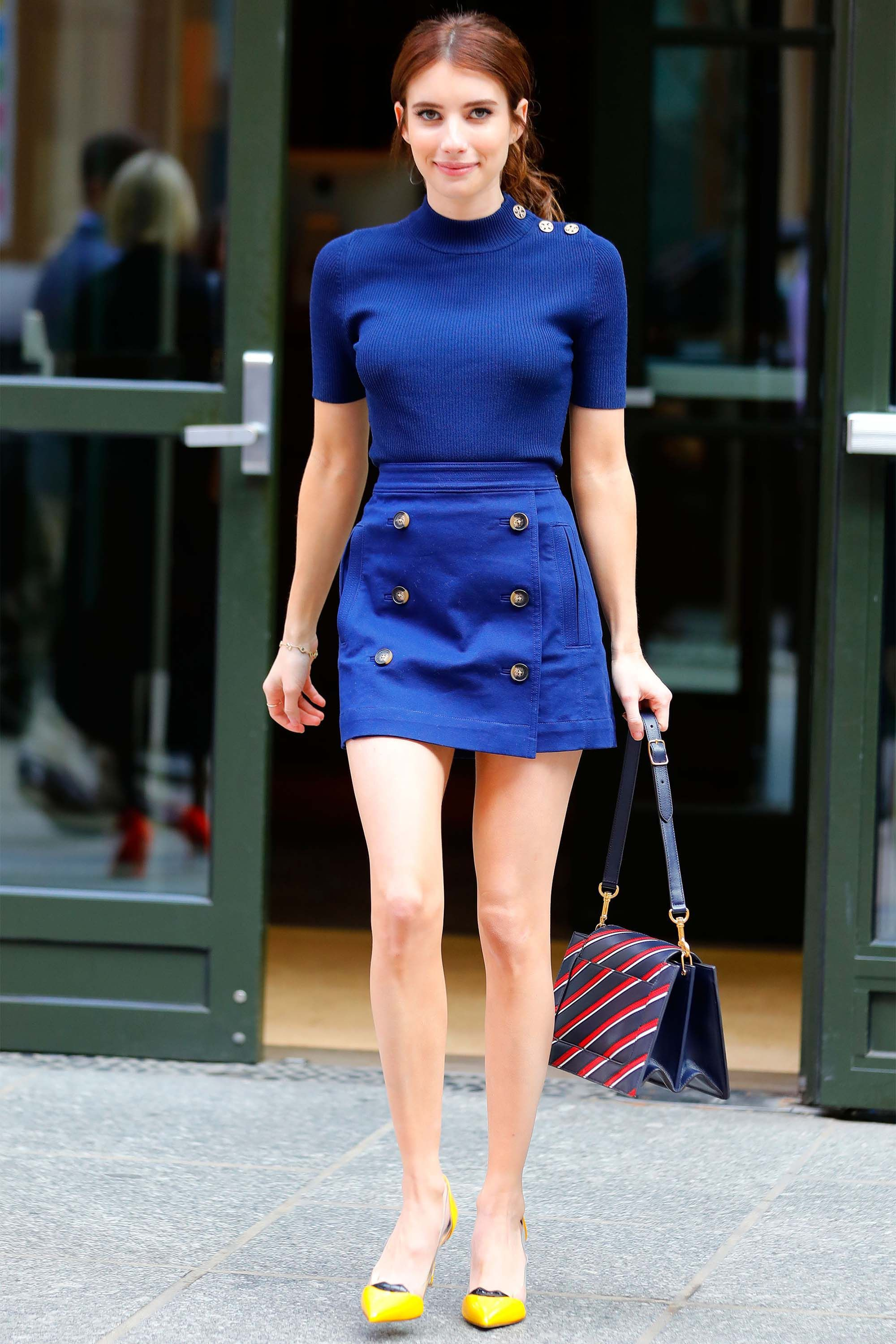 17 Shirt and Skirt Combos for Summer - Best Ways to Wear a Skirt for Fall