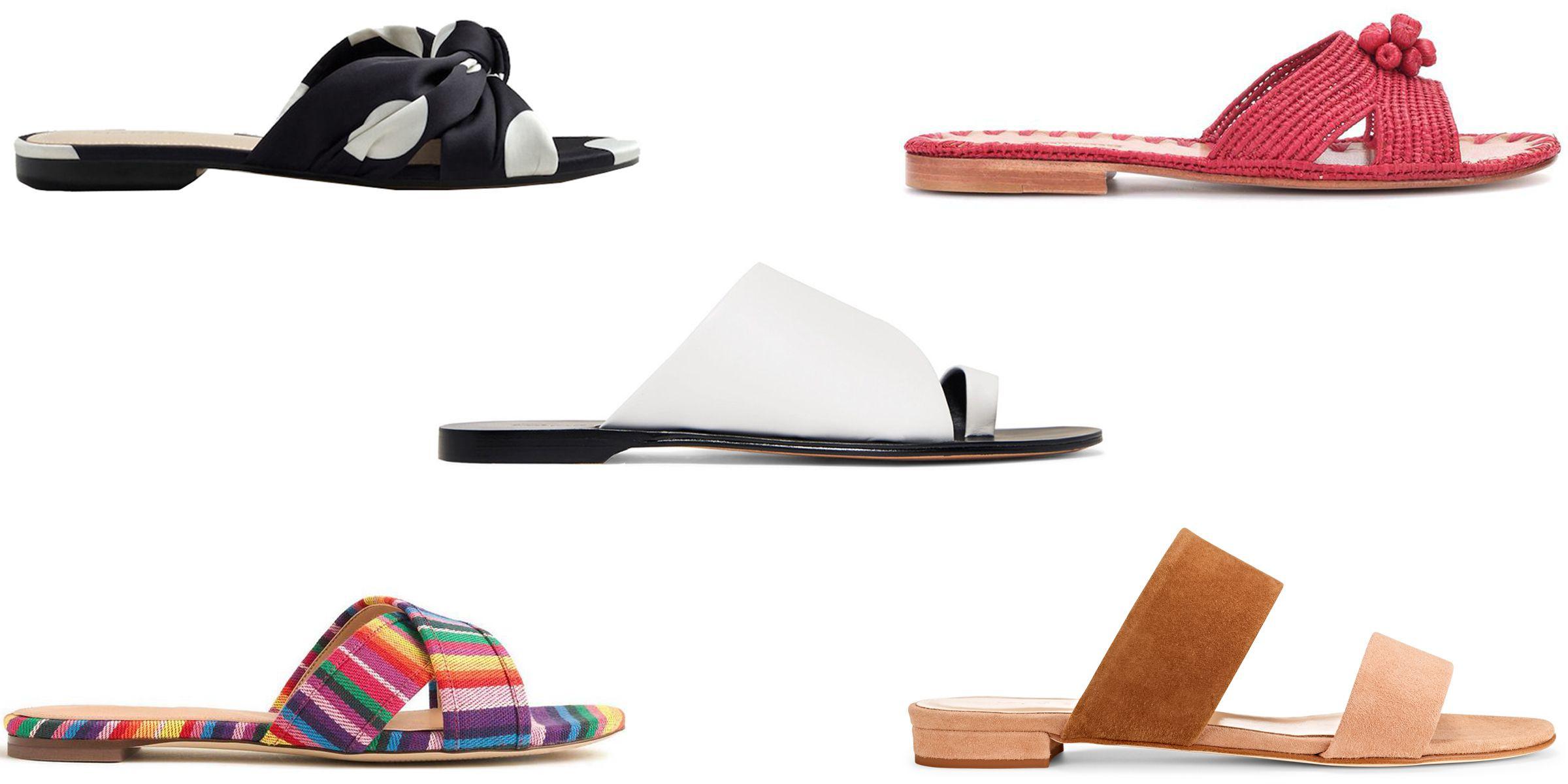 Best Flat Sandals for Summer 2018