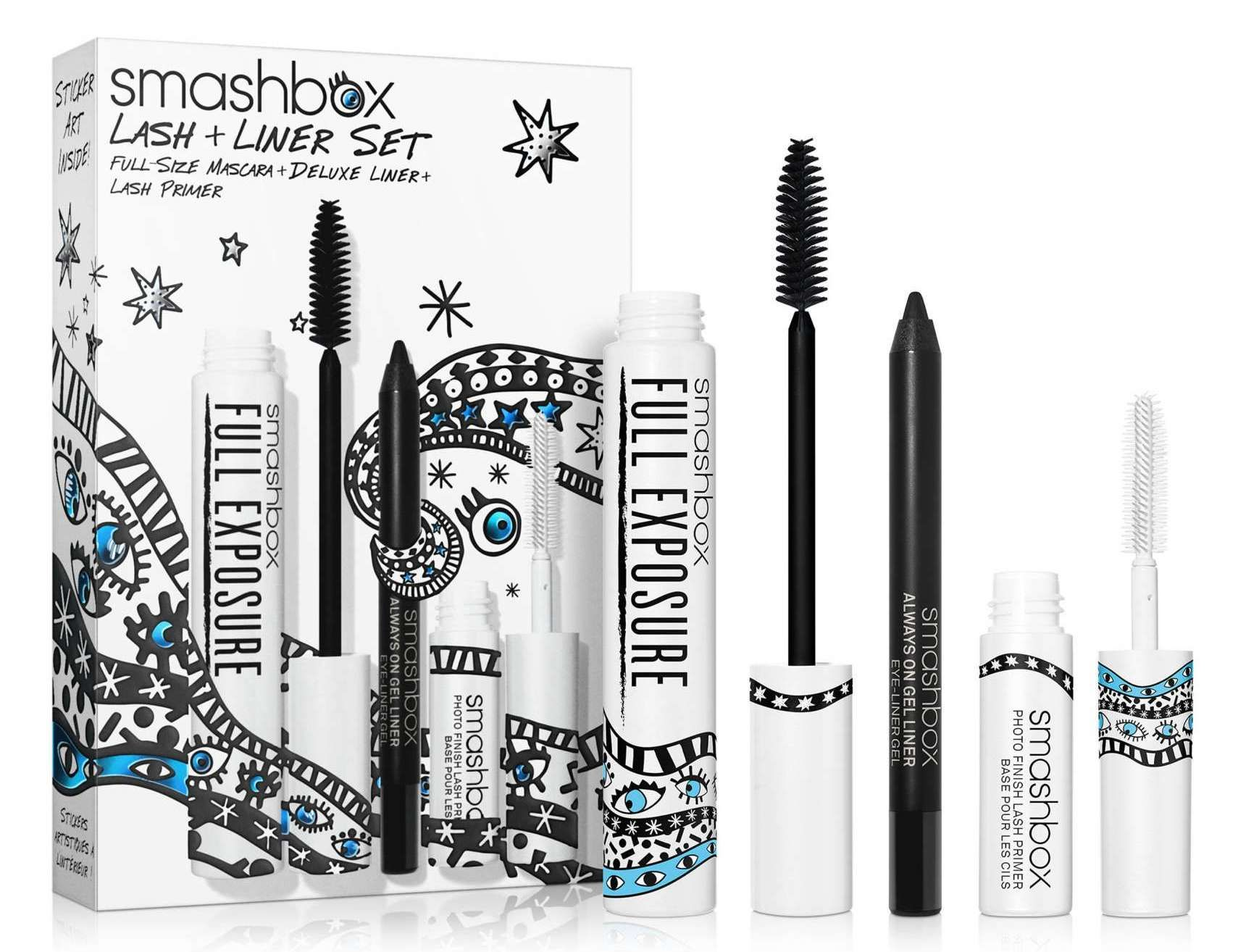 Smashbox Drawn In, Decked Out Lash & Liner Set