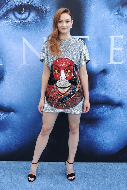 Sophie Turner Is Literally Shining In Her Game Of Thrones