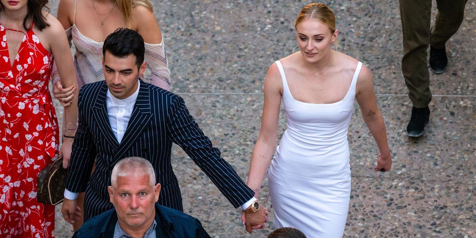 Sophie Turner and Joe Jonas's Wedding in Photos