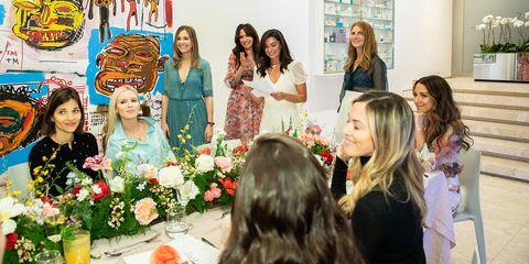 Event, Ceremony, Fashion, Floral design, Dress, Floristry, Flower Arranging, Plant, Wedding, Fashion accessory,