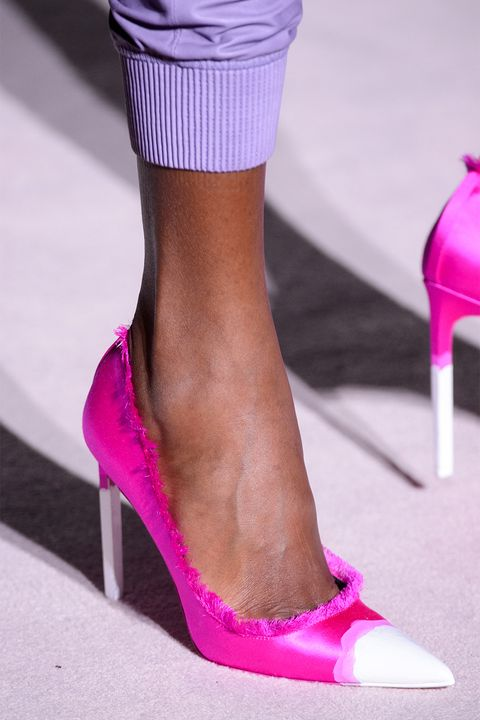 Footwear, High heels, Pink, Shoe, Fashion, Magenta, Leg, Purple, Sandal, Human leg,