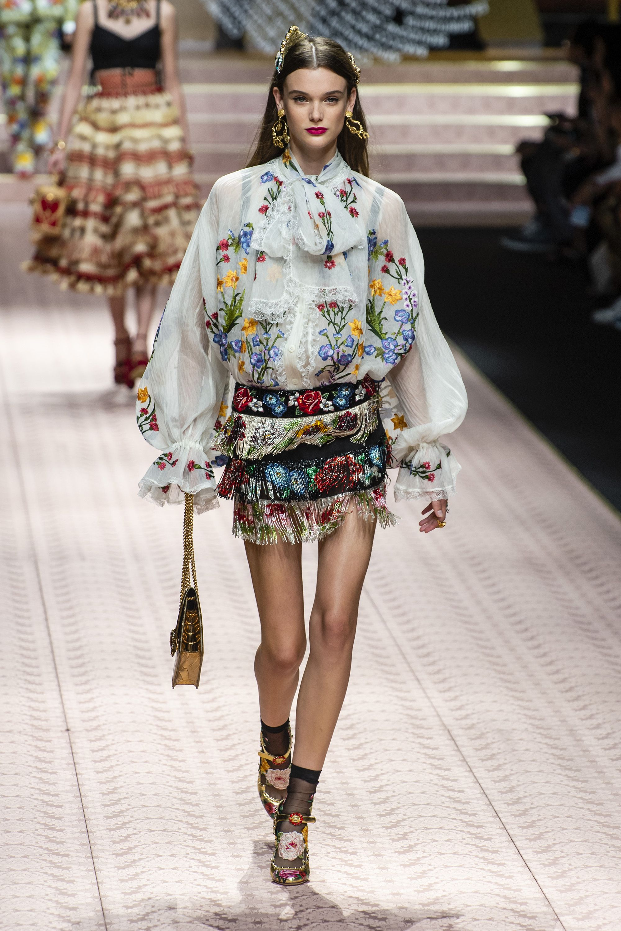 e2edf5770d0 Milan Fashion Week Runway Spring 2019 - Spring 2019 Trends Milan Fashion  Week