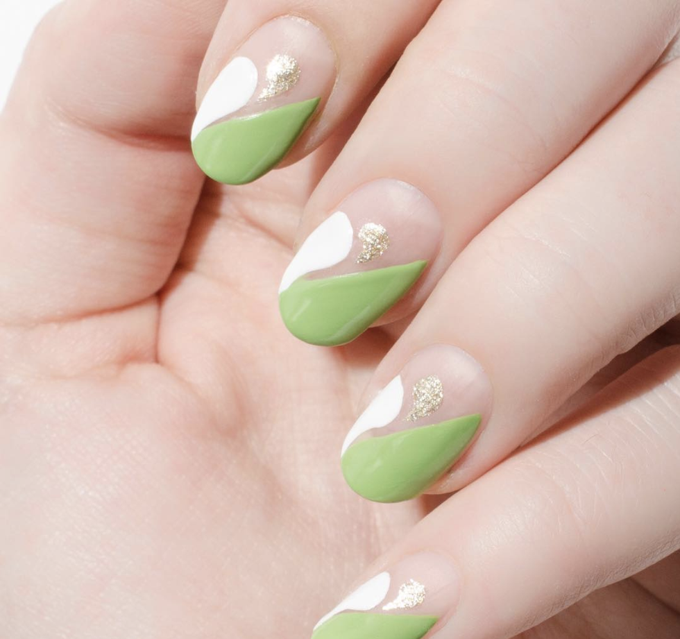 17 Shamrock Free St Patricks Day Nail Designs On Zig