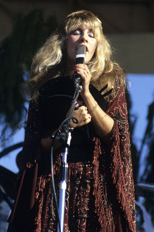 Stevie Nicks Style Through The Years Style Photos Of