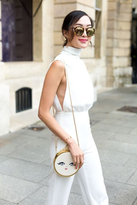 All White Fashion Inspiration - White on White Street Style ad2236606