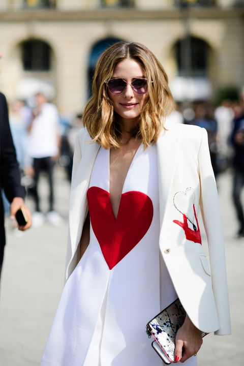 White, Street fashion, Fashion, Clothing, Eyewear, Red, Lip, Beauty, Outerwear, Fashion model,