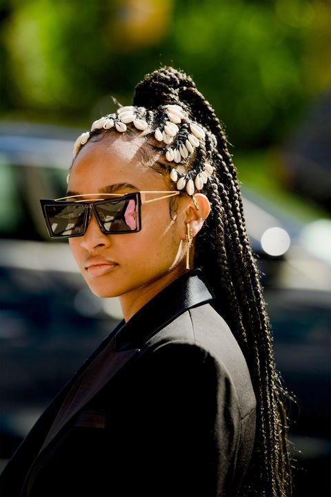 Sunglasses Fashion 2020.Street Style New York Fashion Week Spring 2020