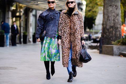 Street fashion, Fashion, Clothing, Fashion model, Snapshot, Fur, Outerwear, Footwear, Eyewear, Coat,