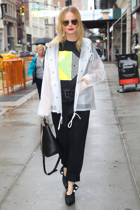 88577f7d4e EXCLUSIVE  Kate Bosworth wears her Proenza Schouler rain coat while out in  a rainy day
