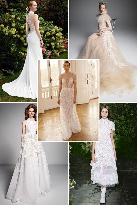 Gown, Wedding dress, Clothing, Dress, Bride, Photograph, Shoulder, Bridal clothing, Bridal party dress, A-line,