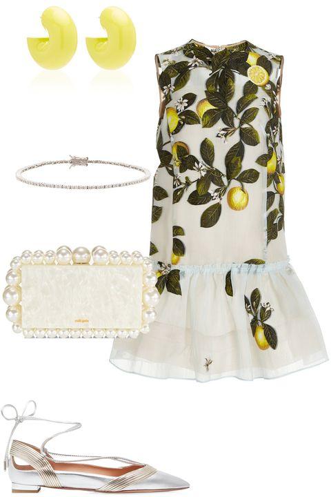 lemon dress outfit
