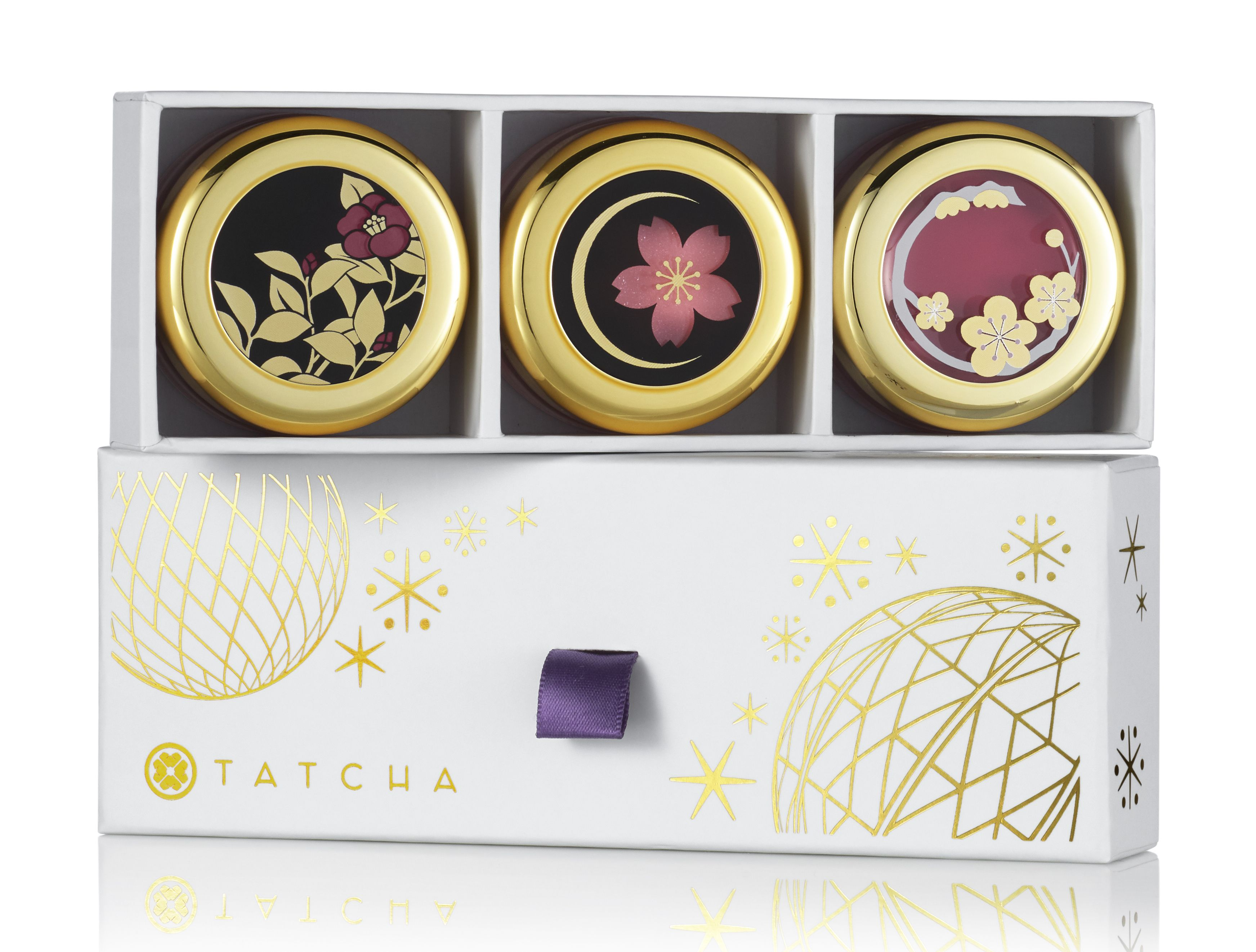 Tatcha Camellia Kisses Lip Balm Trio