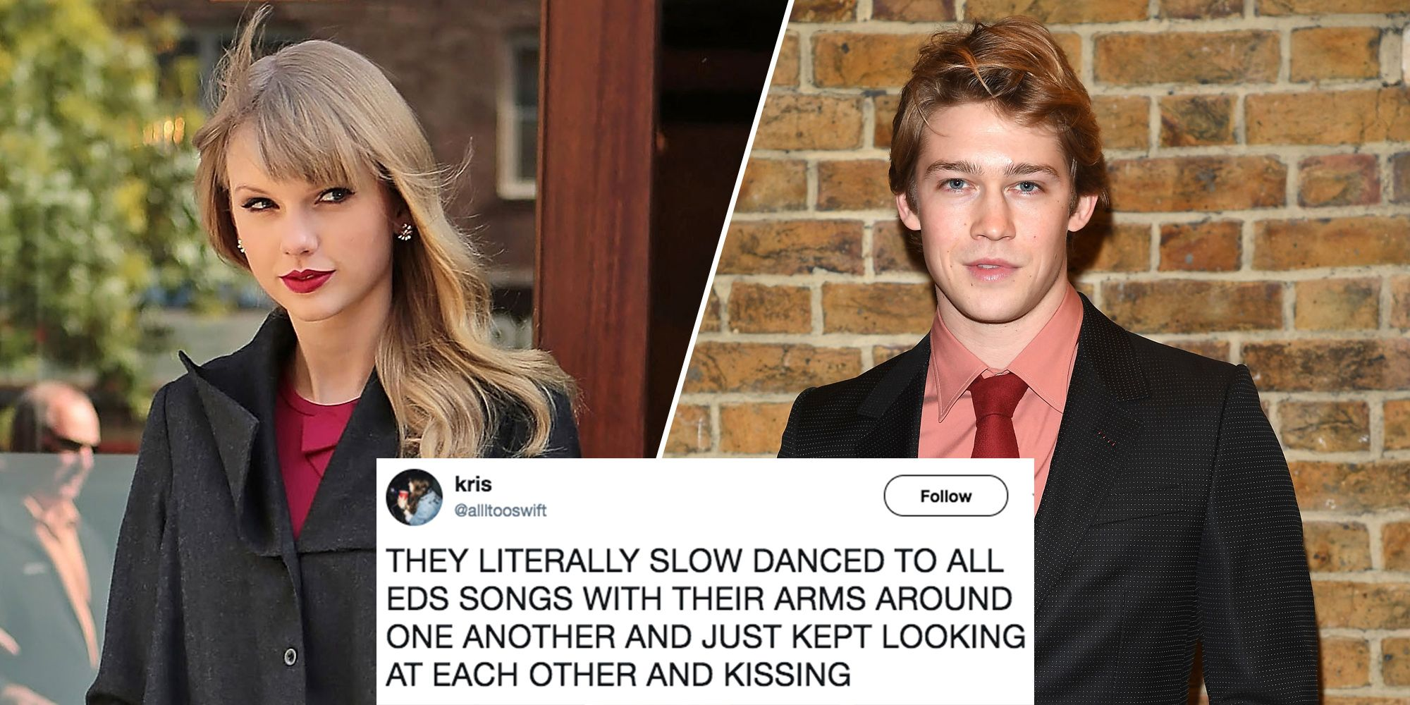 Taylor Swift And Joe Alwyn Slow Dance To Ed Sheeran Taylor Swift And Joe Alwyn Slow Dancing Videos