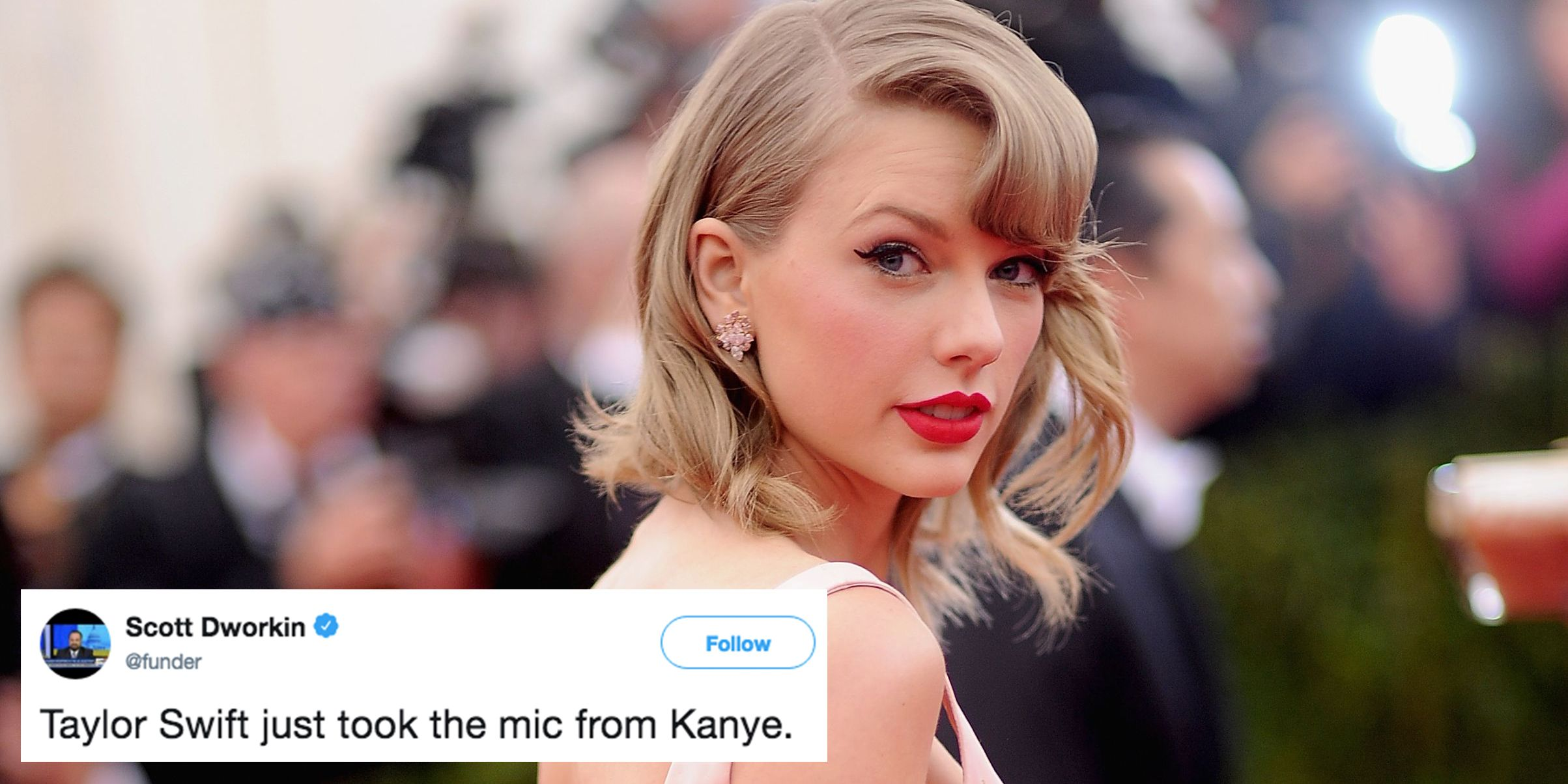 a8fd2e857 The Best Twitter Reactions to Taylor Swift's Political Instagram Post