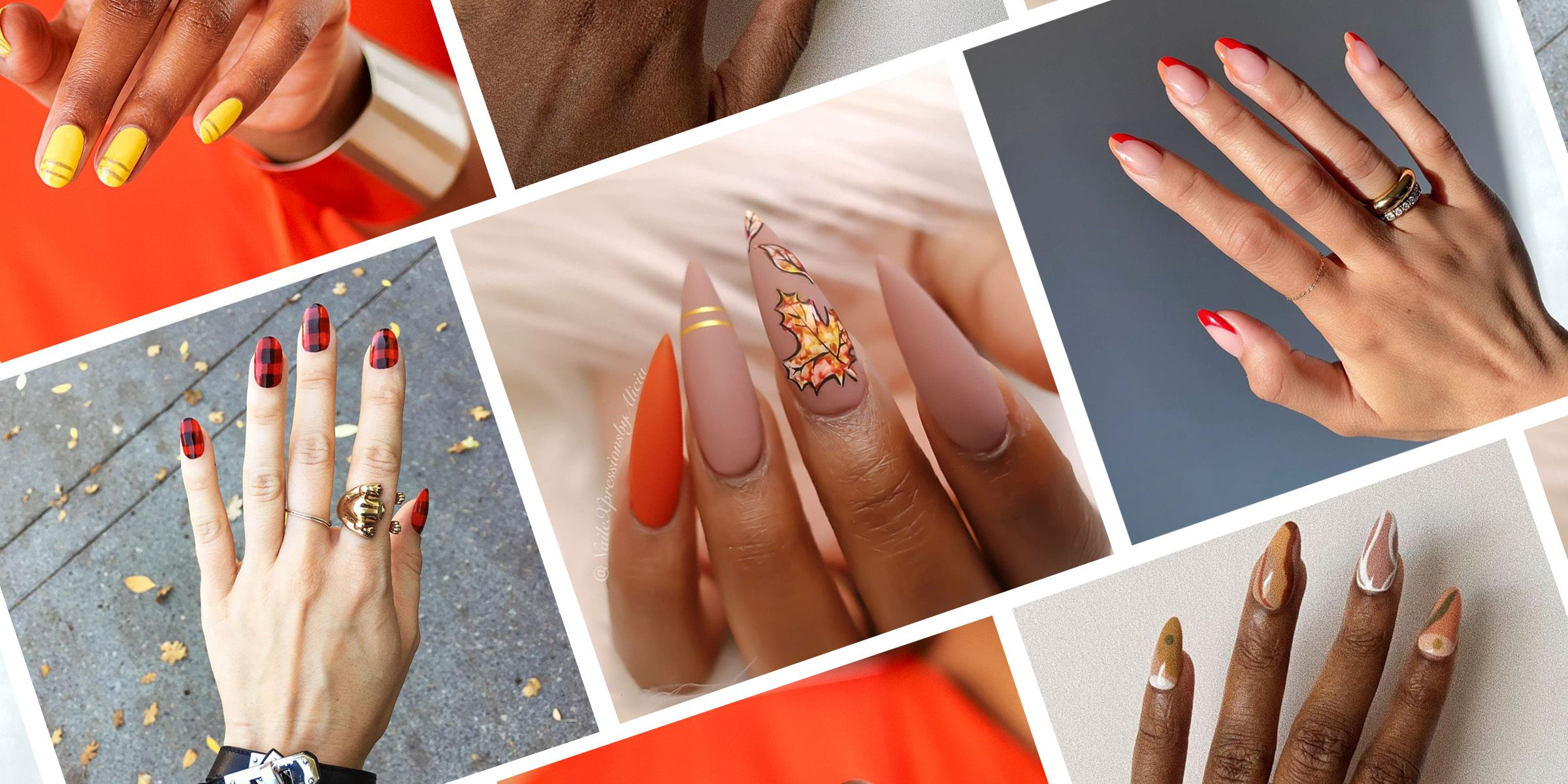 Thanksgiving Nail Art Ideas You Have to Try