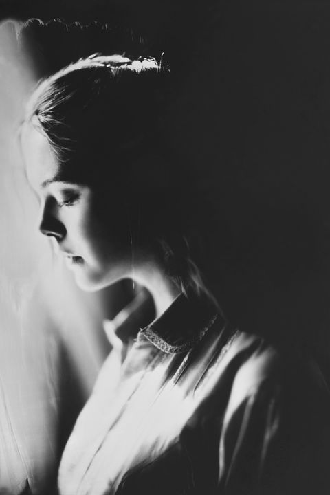 Photograph, Black, Black-and-white, Beauty, Monochrome photography, Monochrome, Lip, Photography, Portrait, Neck,