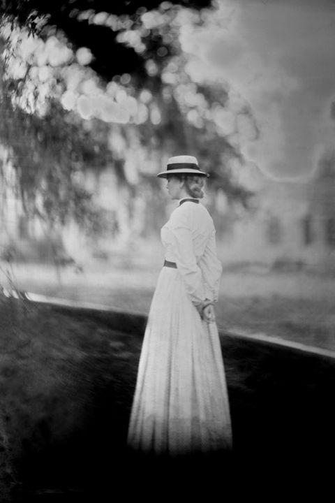 Photograph, White, Black-and-white, Monochrome photography, Standing, Sky, Dress, Monochrome, Photography, Snapshot,