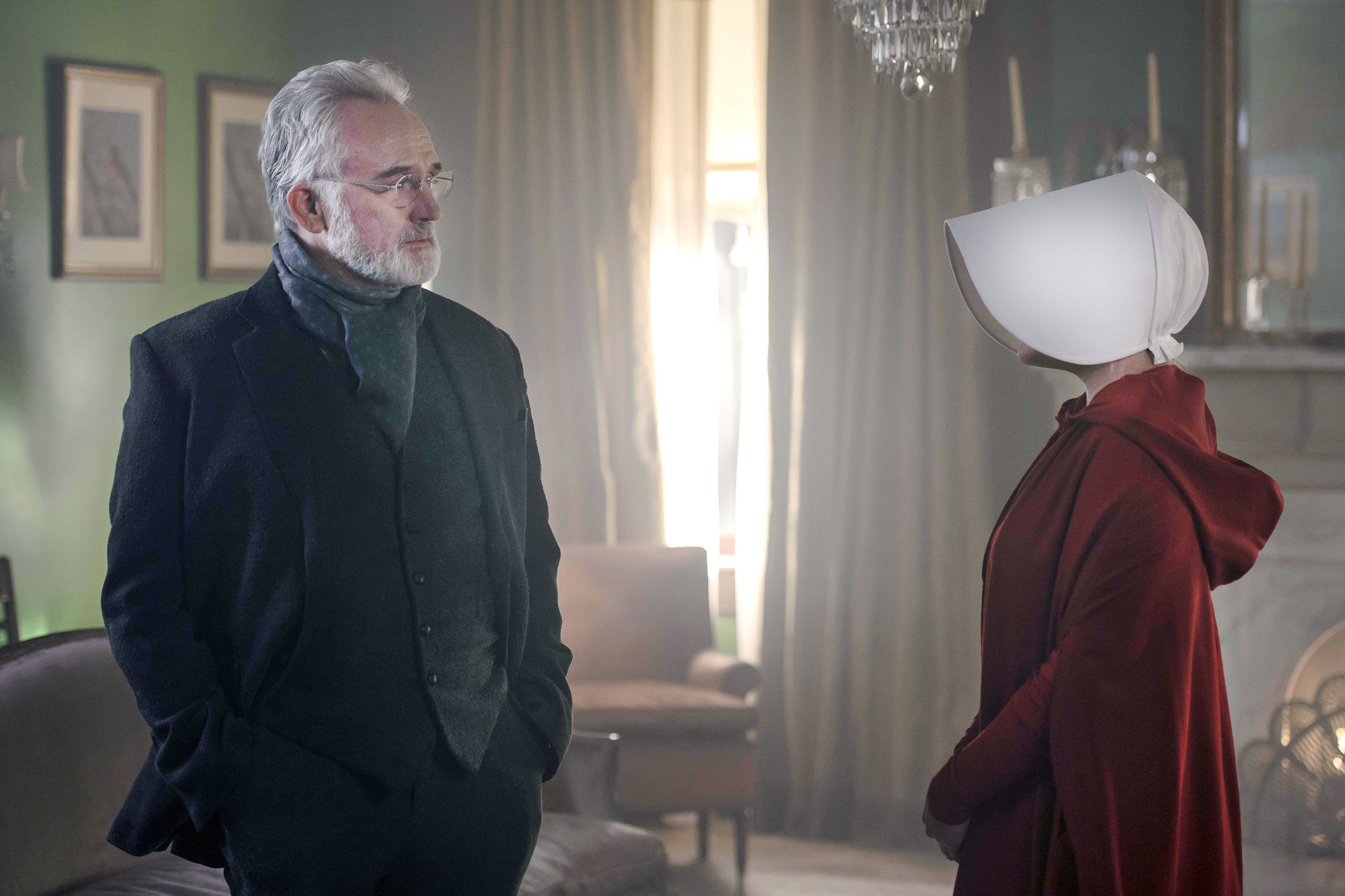 Why Did Commander Lawrence Help Emily and June on Handmaid's
