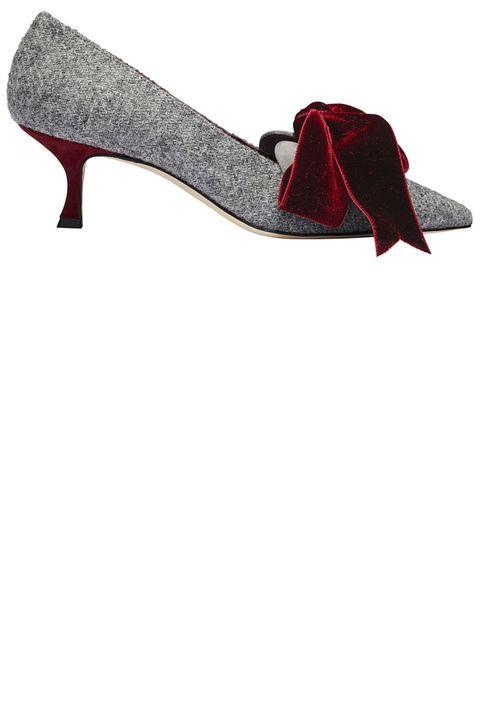Footwear, Red, High heels, Maroon, Shoe, Carmine, Court shoe, Basic pump,