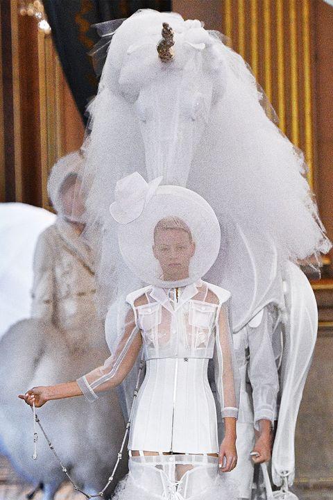 White, Veil, Fashion, Bridal accessory, Bridal veil, Dress, Headpiece, Wedding dress, Bridal clothing, Bride,