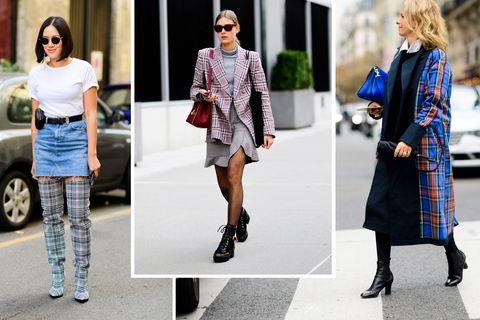 Clothing, Street fashion, Fashion, Footwear, Outerwear, Fashion model, Dress, Knee, Shoe, Coat,