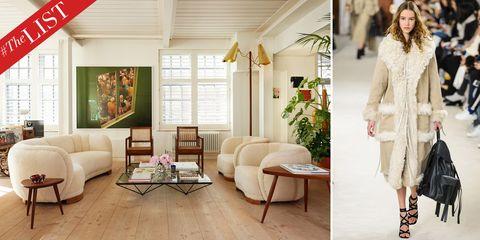 White, Living room, Room, Furniture, Interior design, Floor, Home, Flooring, Beige, Wood flooring,