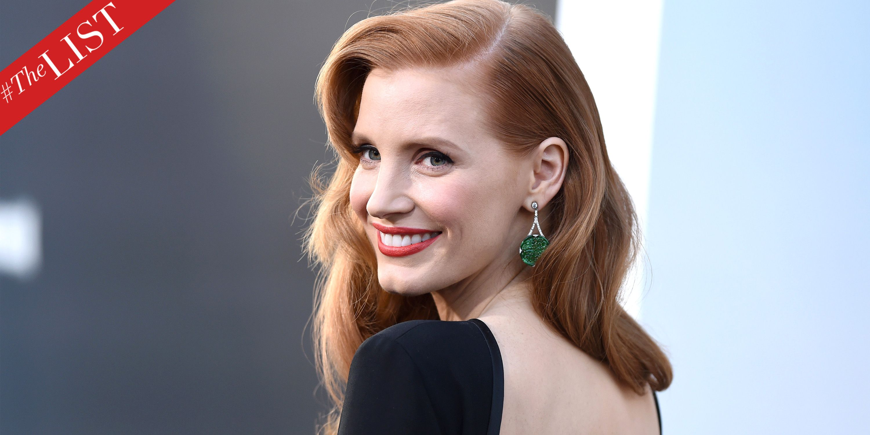 TheLIST: Jessica Chastain Reveals Her Beauty Essentials