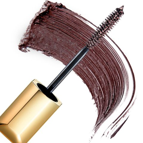 Cosmetics, Mascara, Eyebrow, Eyelash, Brown, Material property,