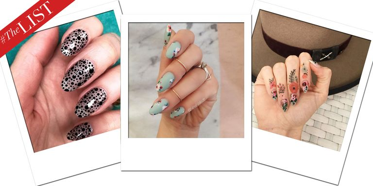 15 spring nail art designs best manicure ideas for spring nails the 16 nail art designs that will upgrade your manicure prinsesfo Choice Image
