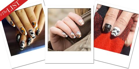 Coolest Star Wars Nail Art Star Wars Nail Art Ideas And Designs