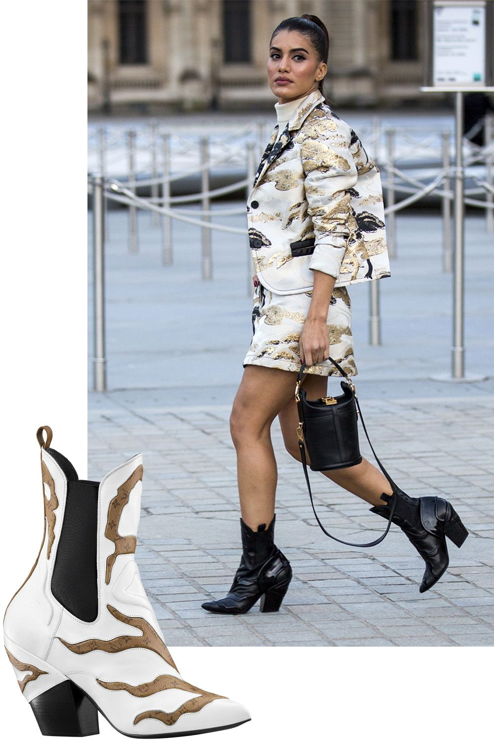 How to Wear the Cowboy Boot Trend, Now