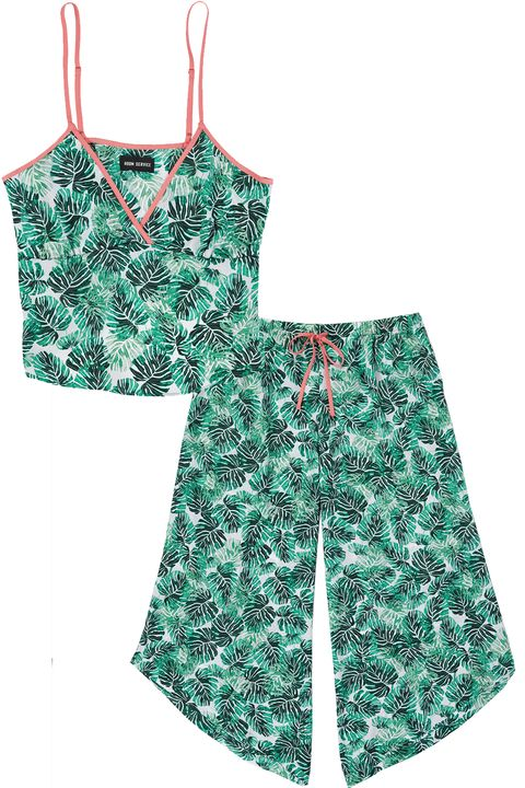 Clothing, Product, Green, One-piece garment, Baby & toddler clothing, Dress, Shorts, Pattern, camisoles,