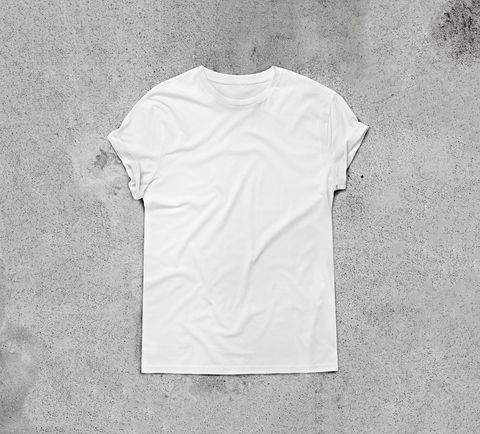 White, T-shirt, Clothing, Sleeve, Top, Font, Brand, Collar, Pattern, Shirt,