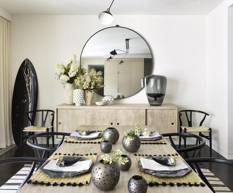 Room, Interior design, Furniture, Dining room, Table, Iron, Living room, Countertop, Home, Coffee table,