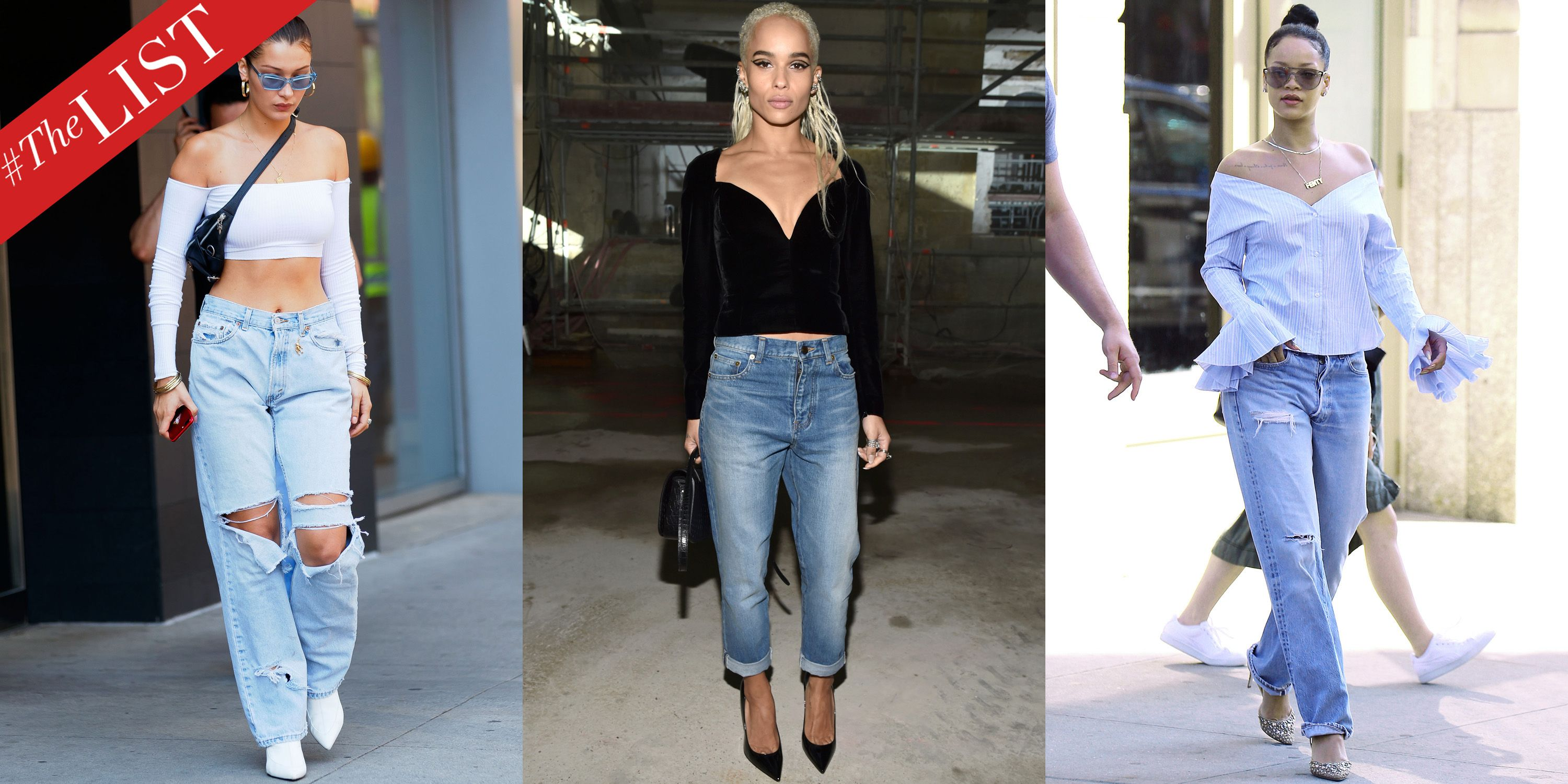 how to wear boyfriend jeans how editors wear boyfriend denim
