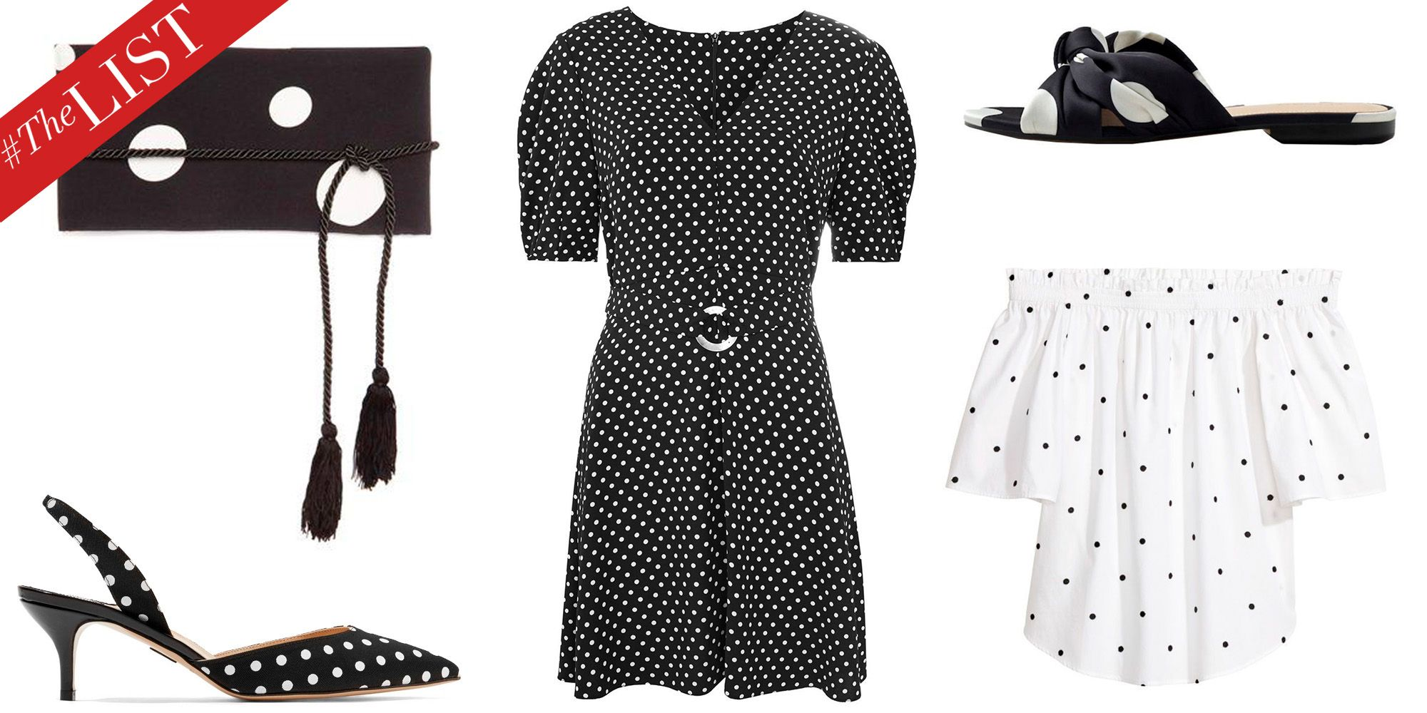1fe9ce38 Polka Dot Fashion Trend 2018 - Polka Dot Clothing and Accessories