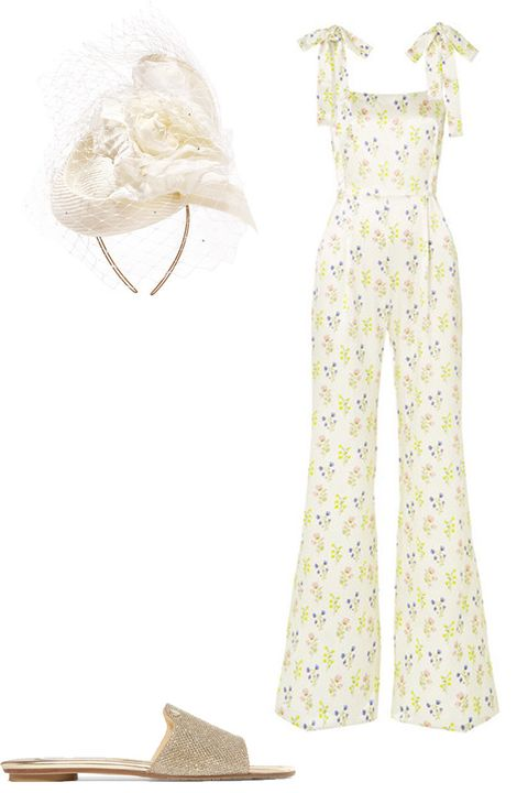 White, Clothing, Dress, Yellow, Day dress, Fashion design, Footwear, Beige, Fashion illustration, Gown,