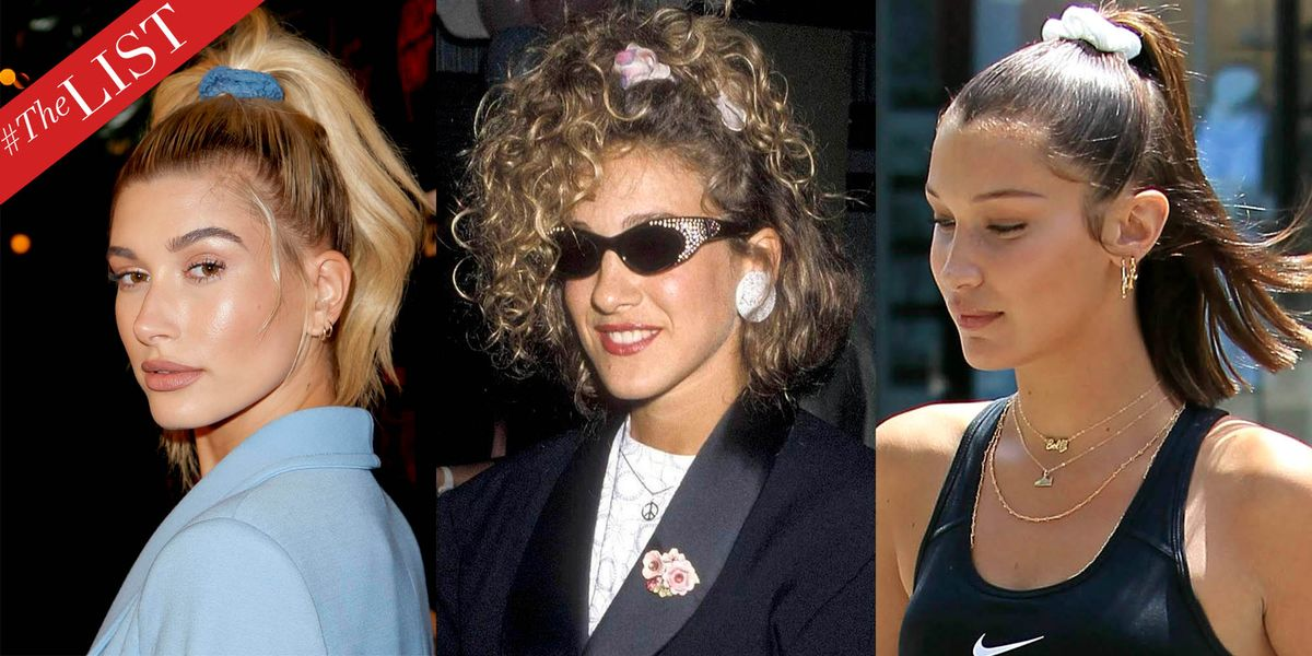 Scrunchie Hair Styles: Chic Scrunchie Hair Ideas