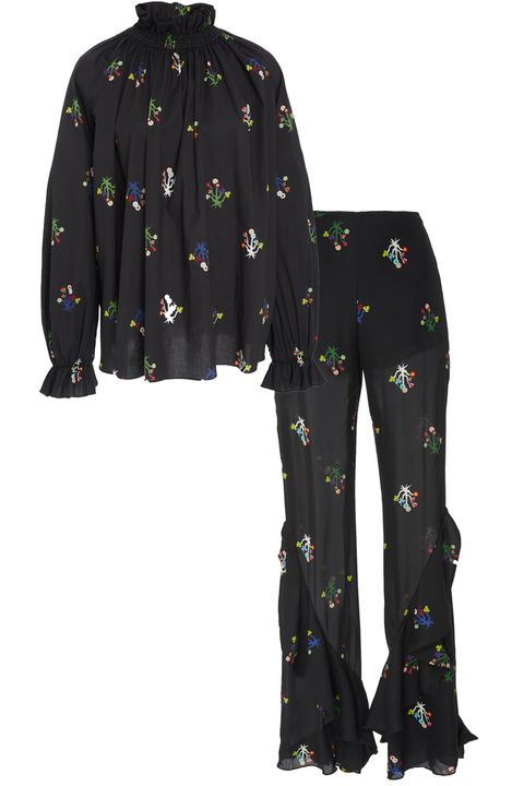 Clothing, Sleeve, Outerwear, Pajamas, Pattern, Trousers, Nightwear,