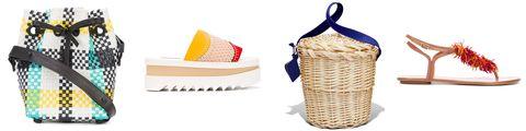 Wicker, Storage basket, Basket, Picnic basket, Footwear, Hamper, Shoe,