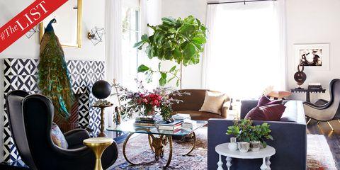 Living room, Room, Interior design, Furniture, Green, Houseplant, Property, Home, Table, Flowerpot,