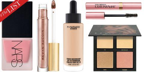 Cosmetics, Product, Eyebrow, Beauty, Eye shadow, Brown, Eye, Pink, Liquid, Cheek,