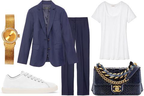 Clothing, White, Fashion, Footwear, Outerwear, Sleeve, Dress, Shoe, Formal wear, Collar,