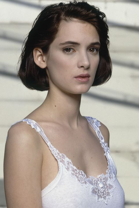 Winona Ryder Best Hair And Makeup Looks Winona Ryder Old