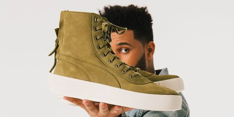 06ed1c0433 The Weeknd Is Launching His Own Sneaker Line With Puma - The Weeknd ...