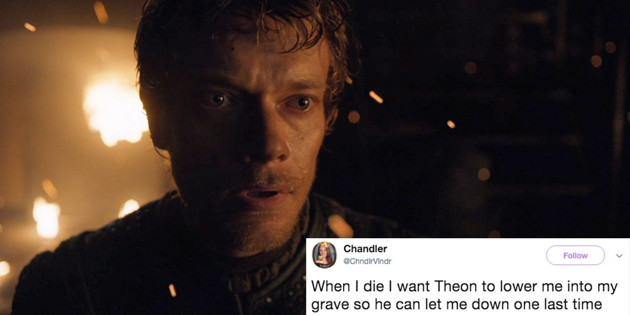 hbz theon tweets indexj 1500869840?crop=1.00xw 1.00xh;00&resize=768 * theon jumping ship tweets and memes game of thrones season 7