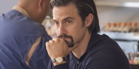 Hair, Facial hair, Beard, Nose, Moustache, Chin, Hairstyle, White-collar worker, Jaw, Gesture,