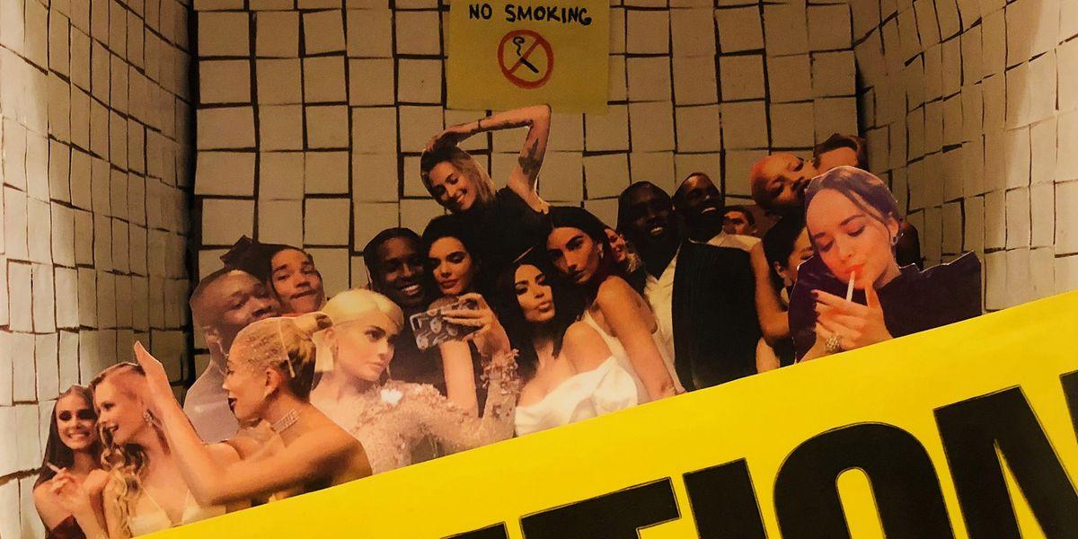 Celebrities Smoking In The Met Gala Bathroom Inspired An